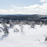 salla mountains view lapland