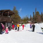 salla hiihtokeskus ala-asema