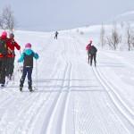Hemavan Tärnäby hiihto latu