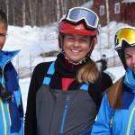 Hemavan Tärnäby ski partor hiihdonopetus