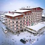 ruka hiihtokeskus ski center village