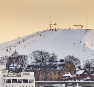 Hammarbybacken-hiihtokeskus. Kuva: SkiStar