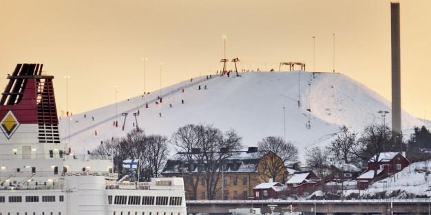 Hammarbybacken – Keskus Tukholman sykkeessä