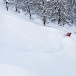 sainte foy tarentaise offpiste powder route