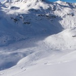 3 valleys meribel mont vallon off piste route