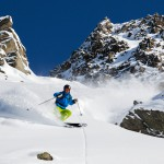 3 valleys meribel mont vallon powder route