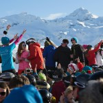 3 valleys val thorens la folie douce terrace