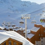 3 valleys val thorens chairlift village