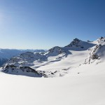 3 valleys val thorens pointe de thorens glacier
