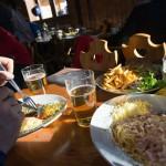 3 valleys val thorens la moutiere restaurant