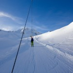 Sierre-anniviers zinal ski lift