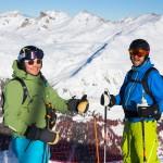 Sierre-anniviers zinal skiers