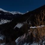 Sierre-anniviers grimentz night scenery