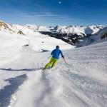 Sierre-anniviers grimentz skier