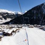 Sierre-anniviers grimentz skiing village