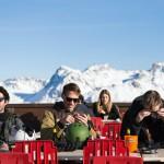 Sierre-anniviers grimentz buvette skiers terrace