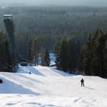 simpsiö hiihtokeskus rinne