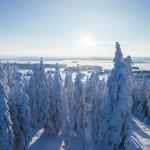 suomu hiihtokeskus maisemat