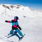 davos snow park for children