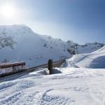 davos parsenn ski train