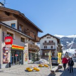 livigno village shopping