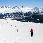 St. Moritz ski resort
