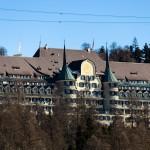 St. Moritz alpine castle