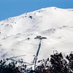 St. Moritz mountain station