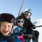 St. Moritz people gondola
