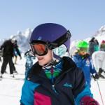 St. Moritz kids skiing