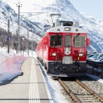 St. Moritz diavolezza train station