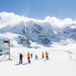 St. Moritz diavolezza skiing