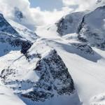St. Moritz diavolezza piz bernina off piste