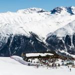 St. Moritz Corviglia slope bar terrace