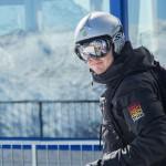 St. Moritz skier piz noir