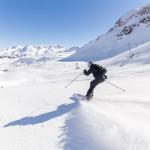 St. Moritz corviglia downhill skiing
