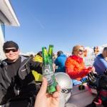 St. Moritz corviglia slope bar