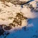 St. Moritz corvatsch sunset slope