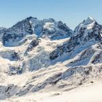 St. Moritz corvatsch mountains