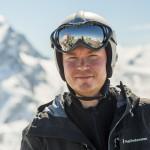 St. Moritz corvatch skier