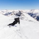 St. Moritz corvatsch skiing