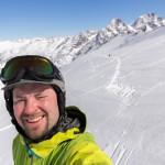 St. Moritz corvatsch off piste