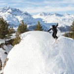 St. Moritz corvatsch offpiste skiing