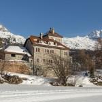 St. Moritz alps switzerland