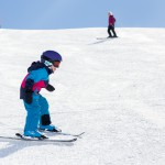 St. Moritz corviglia skiing for children