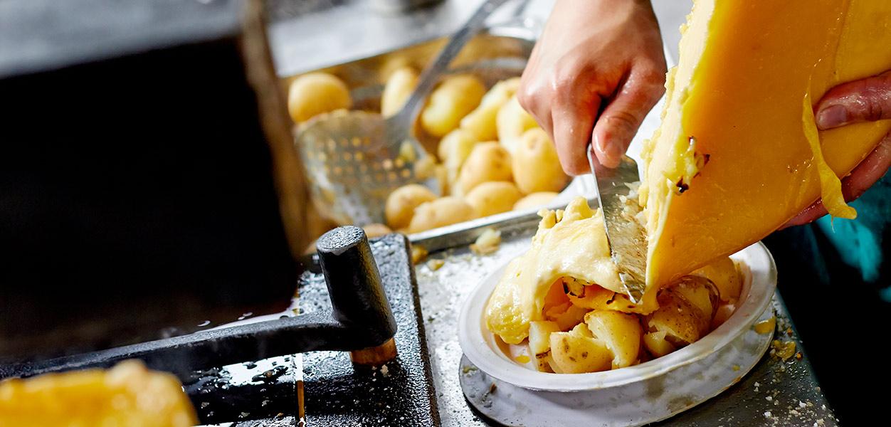 alppiruoka raclette