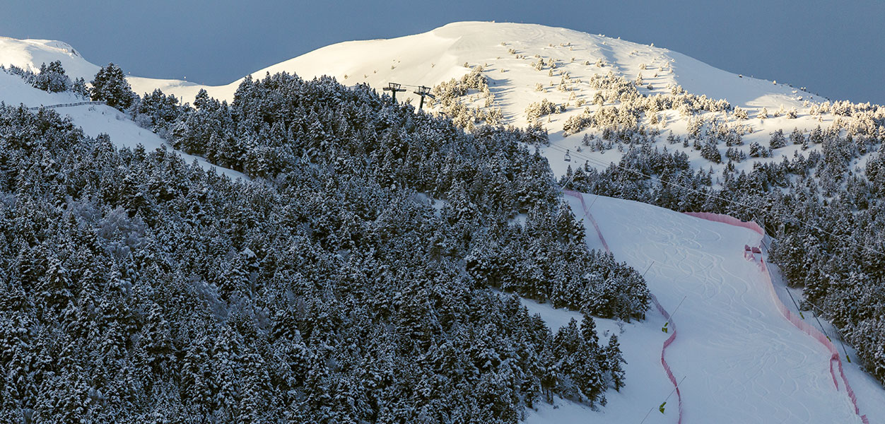 grandvalira Andorra, maasto