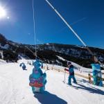 Grandvalira Andorra El Forn lapsille