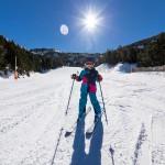 Grandvalira Andorra El Forn skier