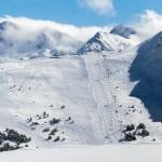 Grandvalira Andorra Llac del cubil slope